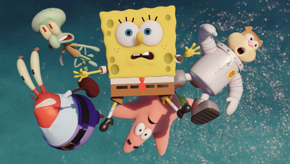 SpongeBob Schwammkopf - Schwamm aus dem Wasser - Bildquelle: (2016) Paramount Pictures and Viacom International Inc. All Rights Reserved. SPONGEBOB SQUAREPANTS is the trademark of Viacom International Inc.