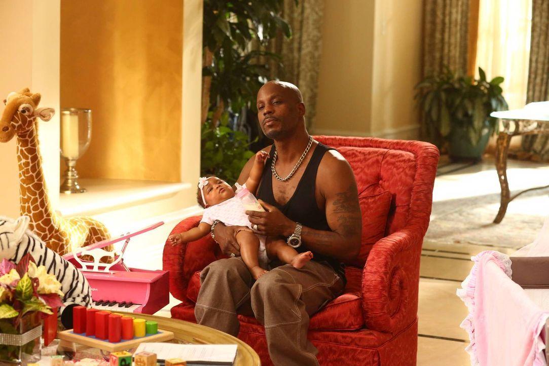 Eddie beginnt bei Rapper DMX (DMX) im Haushalt zu arbeiten, während ein Freund von Louis der Familie langsam auf den Geist geht ... - Bildquelle: 2015-2016 American Broadcasting Companies. All rights reserved.