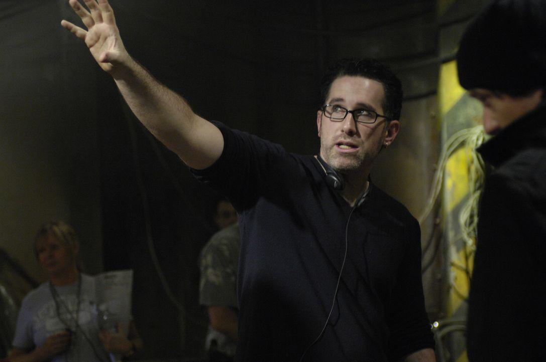 Regisseur Darren Lynn Bousman in Aktion ... - Bildquelle: 2007 Lionsgate, Twisted Pictures