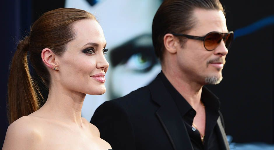 Maleficent-Angelina-Jolie-Brad-Pitt-14-05-28-getty-AFP - Bildquelle: getty-AFP