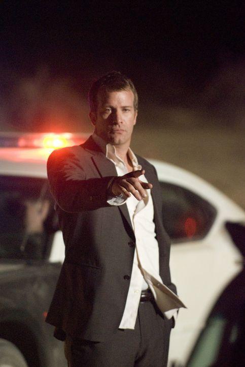 Kann Dick (Thomas Jane) die Polizei von seiner Unschuld überzeugen? - Bildquelle: Sony 2010 CPT Holdings, Inc.  All Rights Reserved.