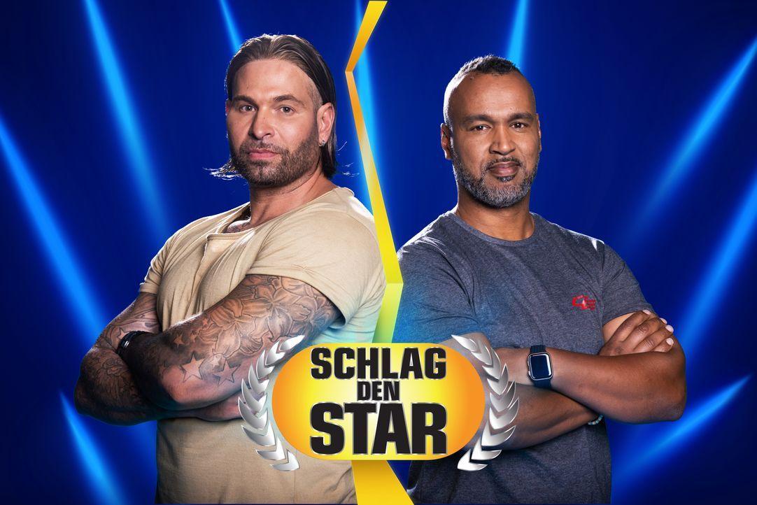 Schlag den Star - Artwork - Tim Wiese (l.); Patrick Esume (r.) - Bildquelle: Steffen Z. Wolff ProSieben / Steffen Z. Wolff