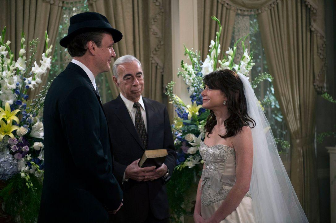 Ein Rückblick zeigt Lily (Alyson Hannigan, r.) und Marshall (Jason Segel, l.) bei ihrer Hochzeit ... - Bildquelle: 2014 Twentieth Century Fox Film Corporation. All rights reserved.