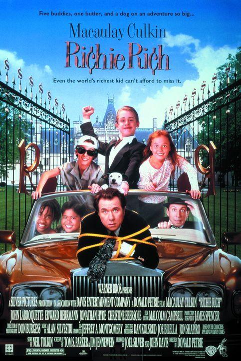 Richie Rich - Plakatmotiv - Bildquelle: 1994 Warner Bros.