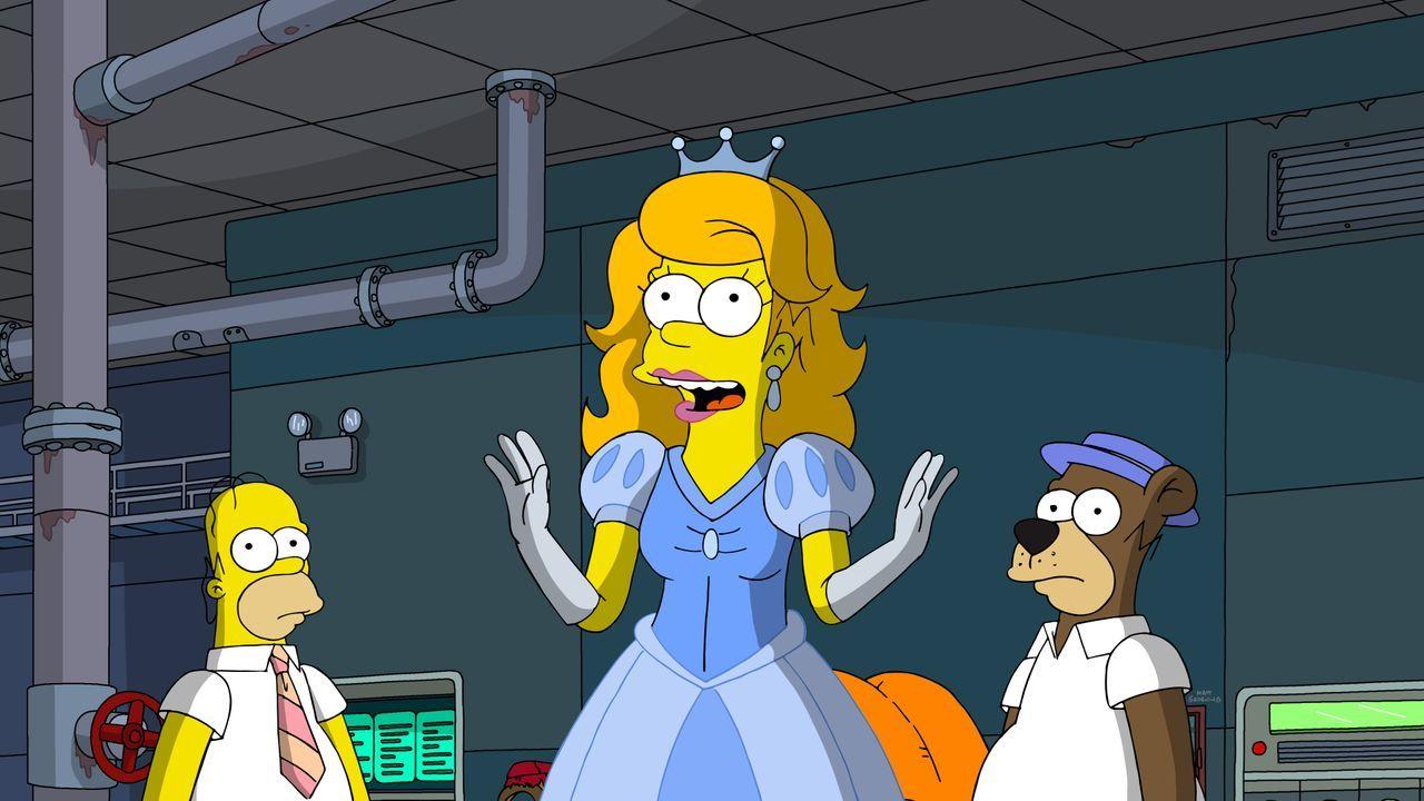(v.l.n.r.) Homer; Disneyprinzessin-Homer; Homer Barbera - Bildquelle: 2020 by Twentieth Century Fox Film Corporation.