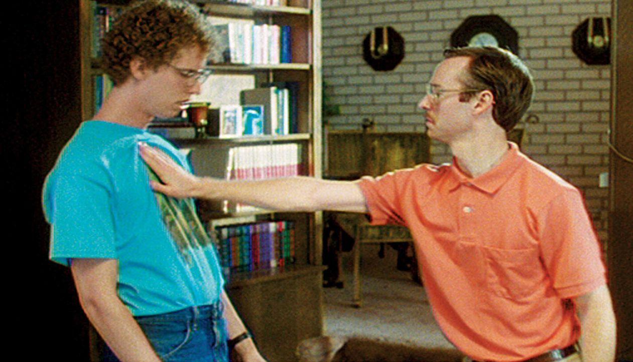 Ganz besondere Brüder: Napoleon (Jon Heder, l.) und Kip (Aaron Ruell, r.) ... - Bildquelle: TM & © 2006 Paramount Pictures. All Rights Reserved.