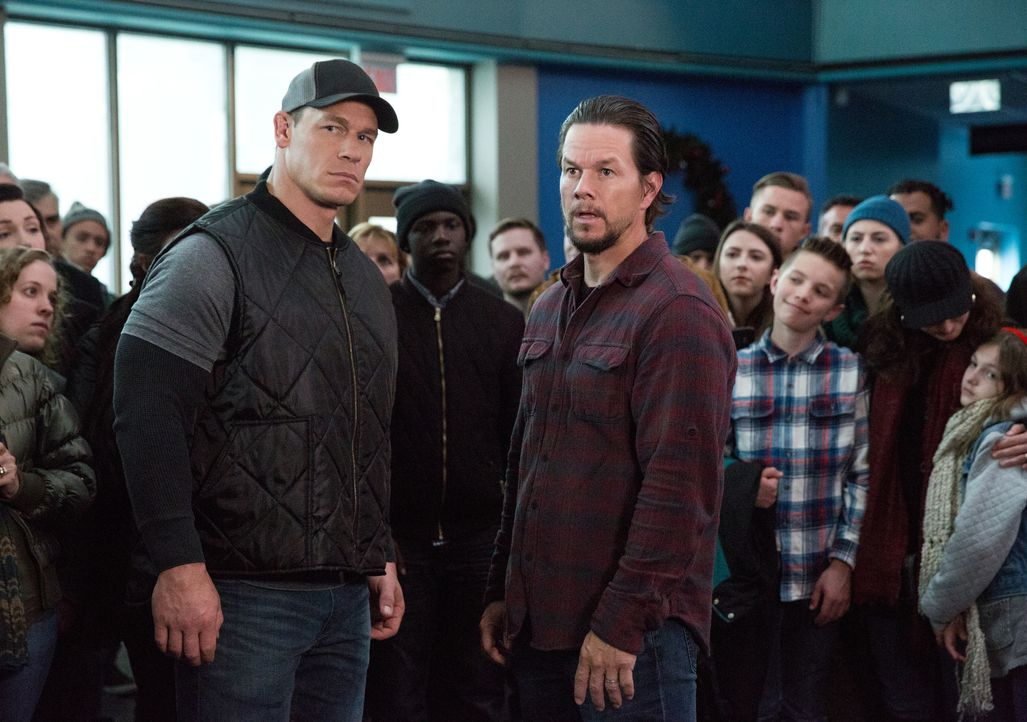 Roger (John Cena, l.); Dusty (Mark Wahlberg, r.) - Bildquelle: Claire Folger 2018 Paramount Pictures / Claire Folger