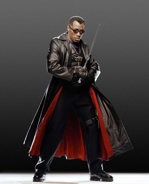 Im Kampf gegen den wiedererweckten Graf Dracula schließt sich Blade (Wesley Snipes) mit einer Gruppe junger Vampirjäger zusammen ... - Bildquelle: New Line Cinema