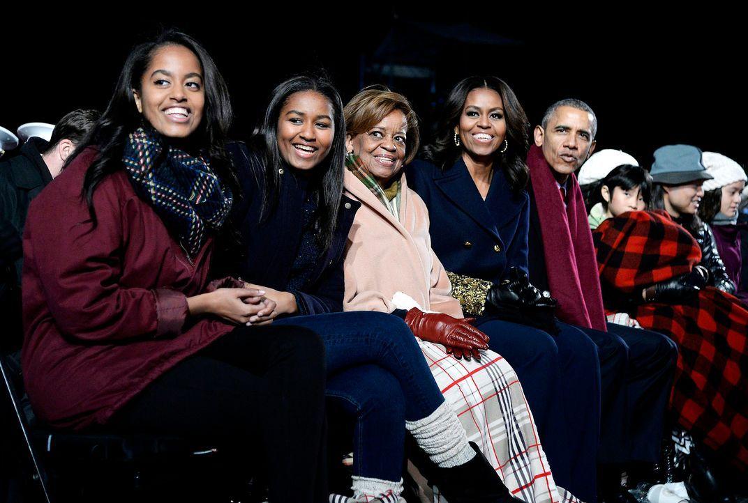 Familie-Obama-15-12-03-dpa - Bildquelle: dpa