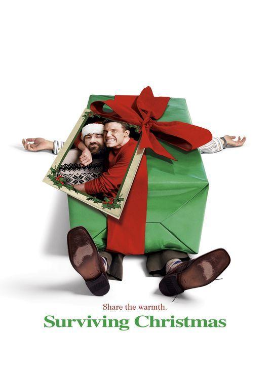 Surviving Christmas: Drew Latham (Ben Affleck, r.) und Tom Valco (James Gandolfini, l.) ... - Bildquelle: Telepool GmbH
