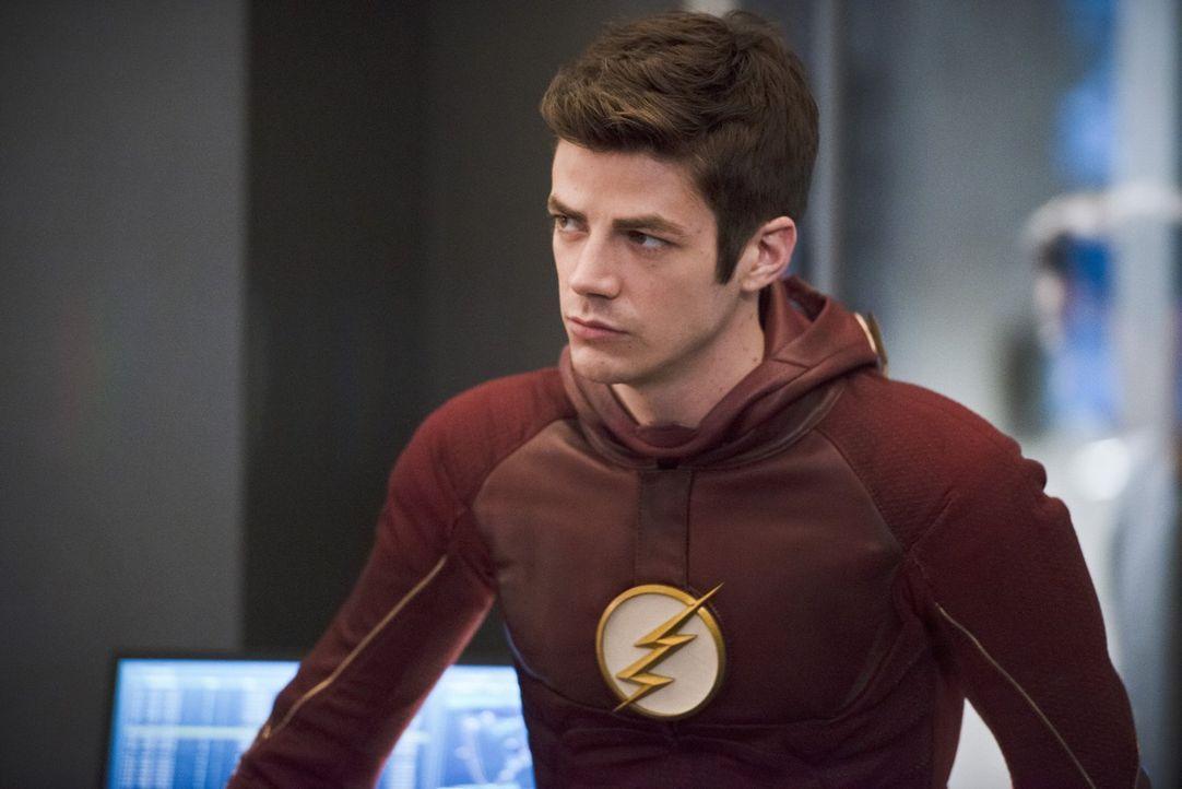 Unterschätzt Barry alias The Flash (Grant Gustin) den Hass und die daraus resultierende Macht von Zoom? - Bildquelle: Warner Bros. Entertainment, Inc.