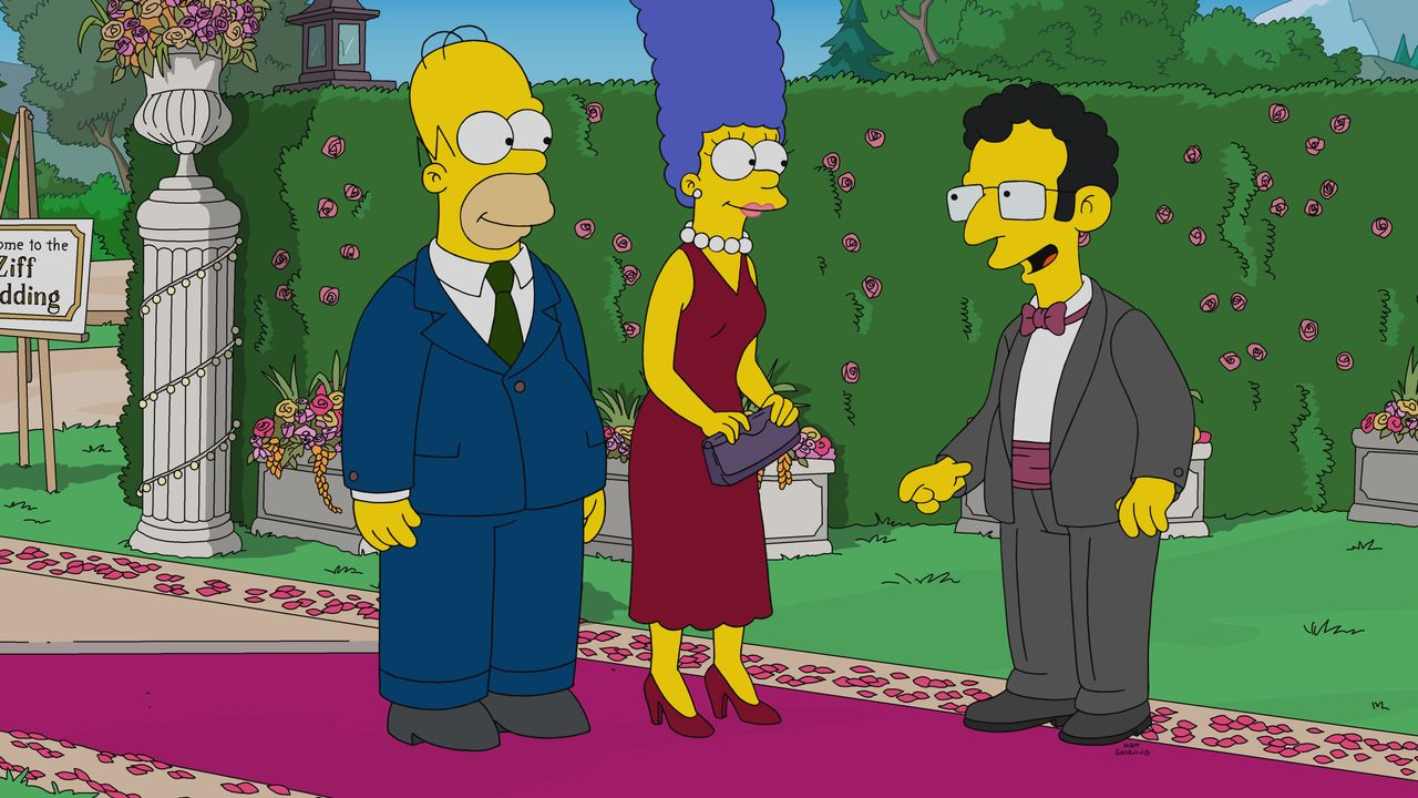 (v.l.n.r.) Homer; Marge; Artie - Bildquelle: 2019-2020 Twentieth Century Fox Film Corporation.  All rights reserved.