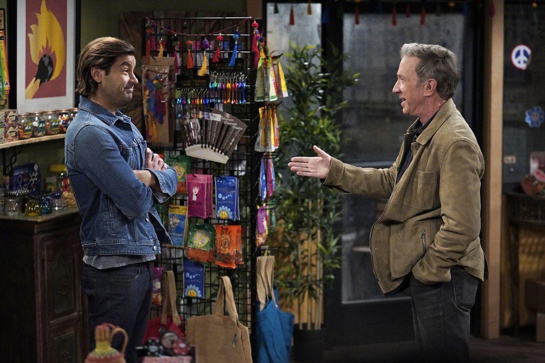 Ryan Vogelson (Jordan Masterson, l.); Mike Baxter (Tim Allen, r.) - Bildquelle: Michael Becker 2020 Fox Media LLC. / Michael Becker