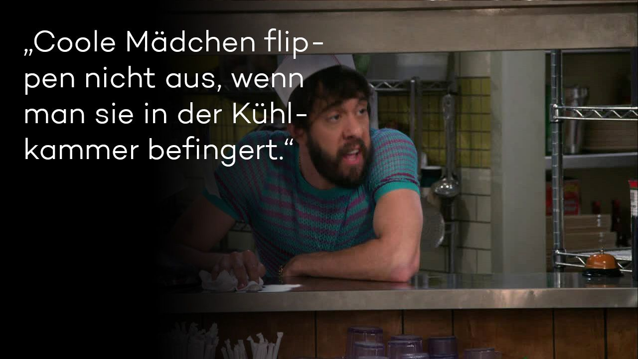 "Zitate aus ""2 Broke Girls"" Staffel 5 - Bild 5 - Bildquelle: Warner Brothers"