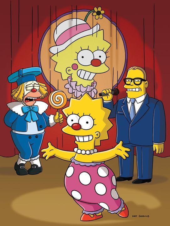 Lisa schnuppert Bühnenluft ... - Bildquelle: und TM Twentieth Century Fox Film Corporation - Alle Rechte vorbehalten