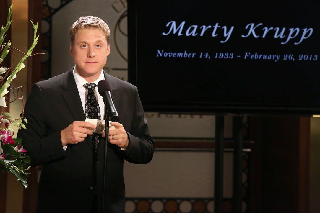 Organisiert gemeinsam mit George eine angemessene Trauerfeier für Maty: Noah (Alan Tudyk) ... - Bildquelle: Warner Brothers