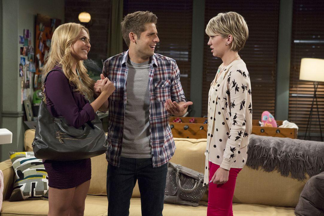 (v.l.n.r.) Heather (Cassie Scerbo); Ben (Jean-Luc Bilodeau); Riley (Chelsea Kane) - Bildquelle: Bruce Birmelin ABC Family