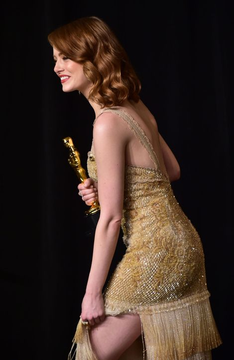 Emma-Stone2-AFP - Bildquelle: AFP PHOTO / FREDERIC J. BROWN