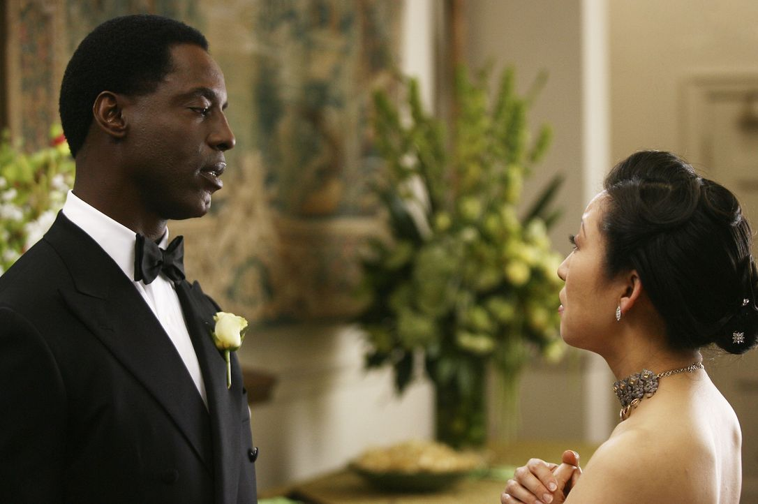 Ein Tag den Burke (Isaiah Washington, l.) und Cristina (Sandra Oh, r.) nie vergessen werden ... - Bildquelle: Scott Garfield 2007 American Broadcasting Companies, Inc. All rights reserved. NO ARCHIVE. NO RESALE.