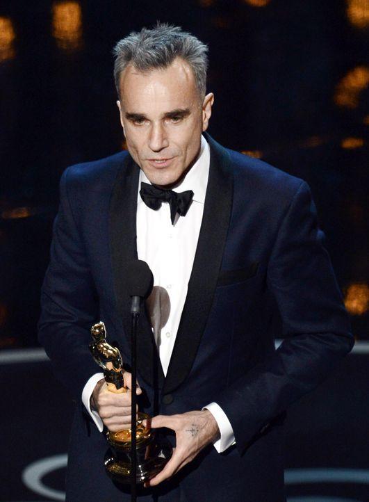 Oscar ® 2013 - Bester Hauptdarsteller: Daniel Day-Lewis - Bildquelle: AFP / GETTY IMAGES NORTH AMERICA