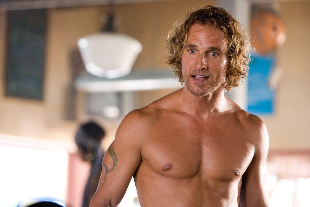 Als Schatzsucher macht Benjamin (Matthew McConaughey) nicht immer eine gute Figur, weshalb er auf die Hilfe seiner Frau angewiesen ist ... - Bildquelle: Warner Brothers