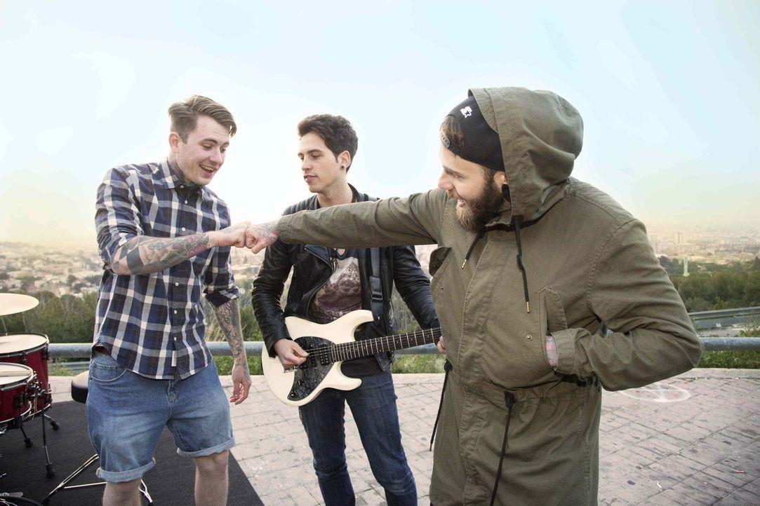 Die Band_Samu Haber - Bildquelle: ProSieben