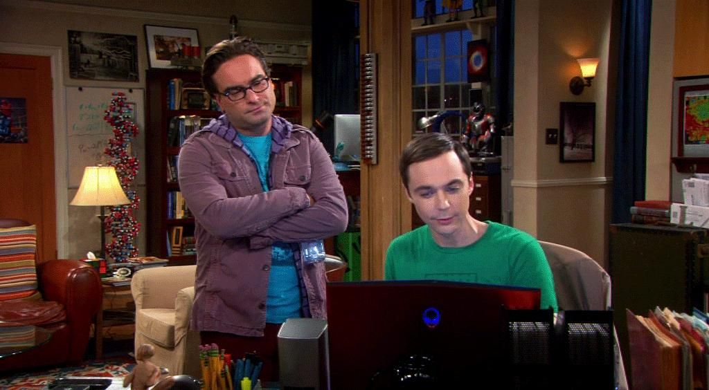 The Big Bang Theory - Staffel 6 Episode 7: Leonard (Johnny Galecki), Sheldon (Jim Parsons) - Bildquelle: Warner Brothers Television