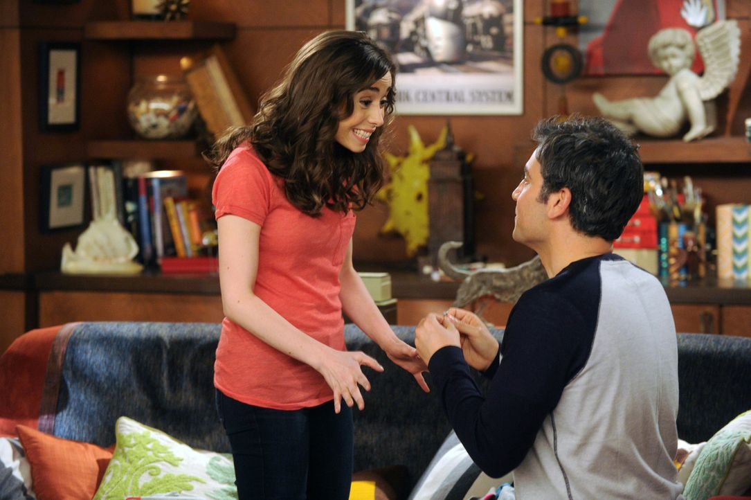 Ted (Josh Radnor, r.) hat endlich die Liebe seines Lebens gefunden: Tracy (Cristin Milioti, l.). Ein Heiratsantrag soll die Liebe der beiden besiege... - Bildquelle: 2014 Twentieth Century Fox Film Corporation. All rights reserved.