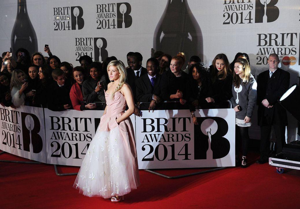 Brit-Awards-Ellie-Goulding-14-02-19-dpa - Bildquelle: dpa