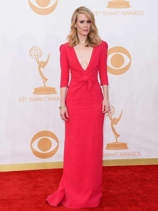 Emmy-Awards-Sarah-Paulson-13-09-22-getty-AFP - Bildquelle: getty-AFP
