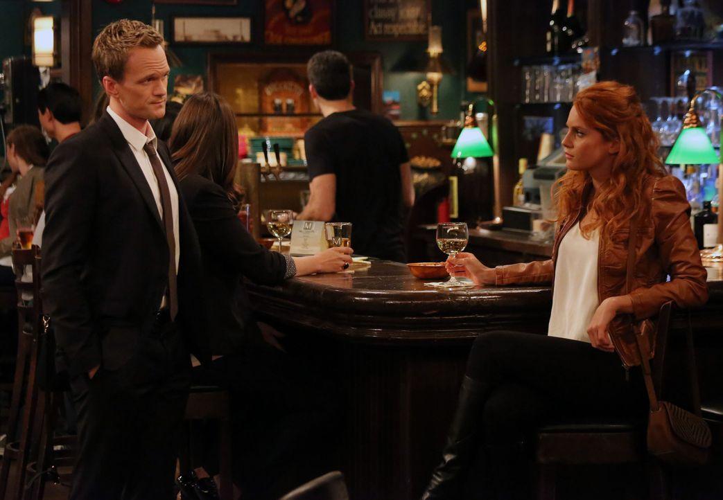 Rückblick: Barney (Neil Patrick Harris, l.) und Meredith (Stephanie Lynn, r.) ... - Bildquelle: 2013 Twentieth Century Fox Film Corporation. All rights reserved.