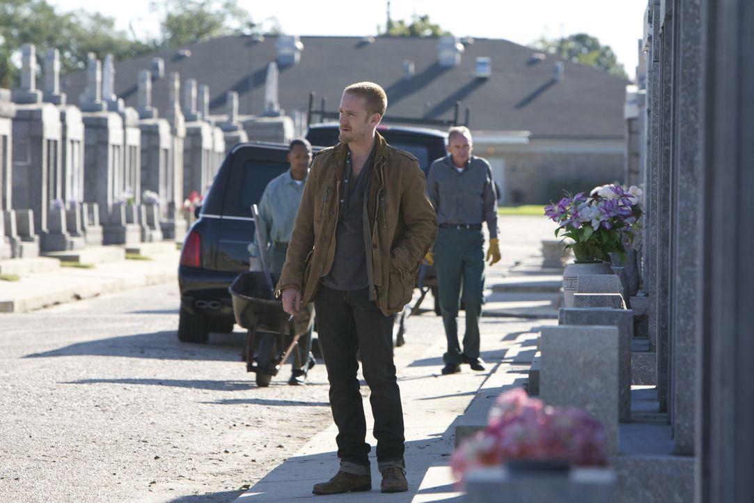 Obwohl Steve (Ben Foster) kein gutes Verhältnis zu seinem Vater hatte, schwört er Rache für dessen Ermordung. Jetzt soll ihm Daddys Kollege und F... - Bildquelle: 2010 SCARED PRODUCTIONS, INC.