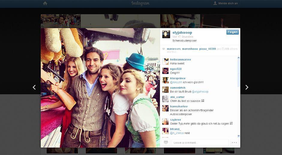 Oktoberfest-Elyas-M-Barek-13-09-26 Kopie - Bildquelle: Instagram/Elyas M'Barek