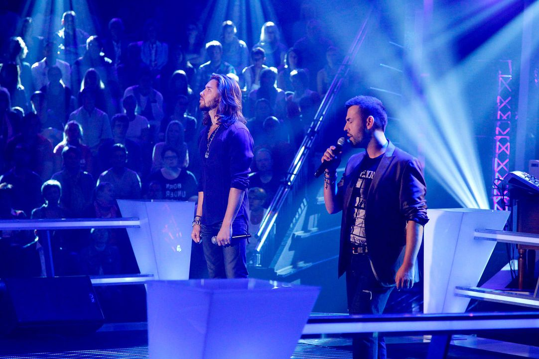 battle-gil-vs-christiano-09-the-voice-of-germany-richard-huebnerjpg 1700 x 1134 - Bildquelle: SAT.1/ProSieben/Richard Hübner