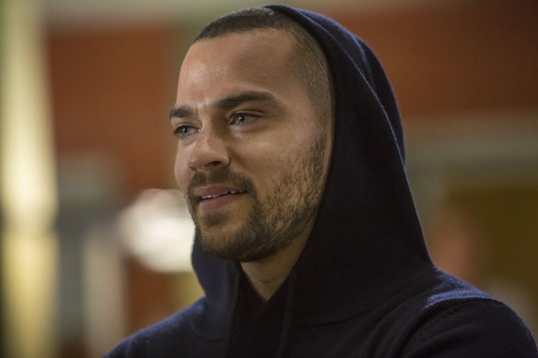 Ahnt nicht, dass er Vater wird: Jackson (Jesse Williams) ... - Bildquelle: Ron Batzdorff ABC Studios