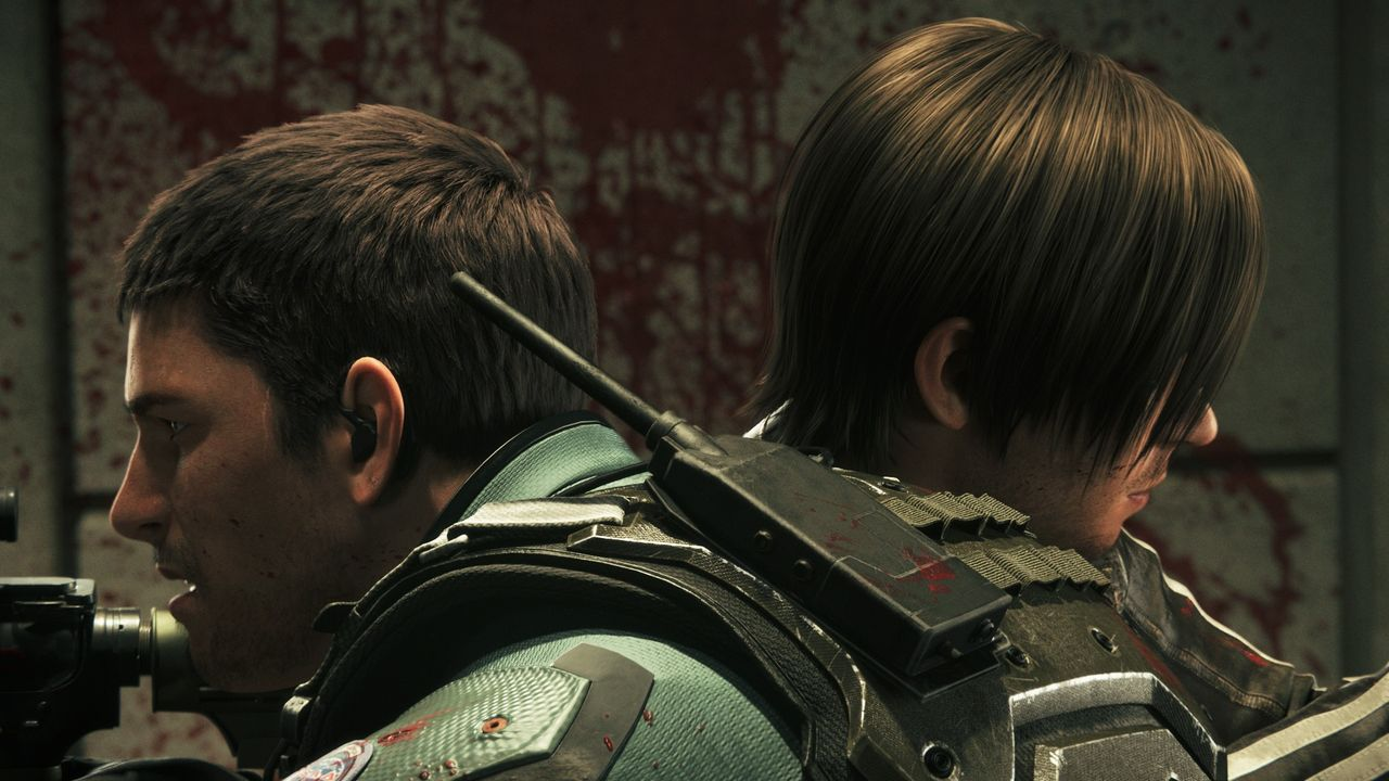 Chris Redfield (l.); Leon Scott Kennedy (r.) - Bildquelle: 2017 Capcom Co., Ltd. and Vendetta Film Partners. All Rights Reserved.