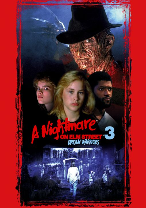 A Nightmare on Elm Street 3: Freddy Krüger lebt - Artwork - Bildquelle: 1987 New Line Productions, Inc. A NIGHTMARE ON ELM STREET 3 - DREAM WARRIORS and all related characters and elements are trademarks.