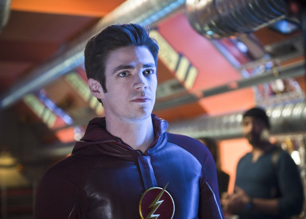 Barry alias The Flash (Grant Gustin) muss eine Entscheidung treffen, die alles verändern könnte ... - Bildquelle: Warner Brothers.
