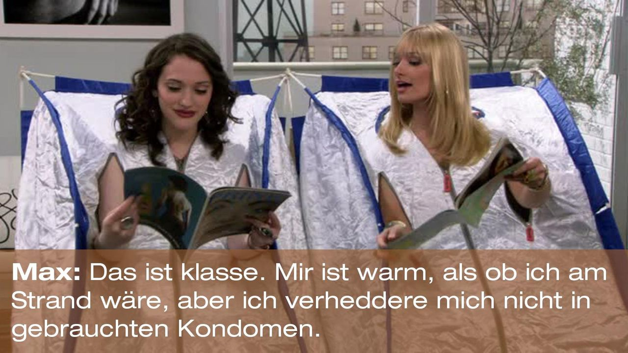 2-broke-girls-zitat-staffel1-episode-19-spring-break-max-strand-warnerpng 1600 x 900 - Bildquelle: Warner Brothers Entertainment Inc.