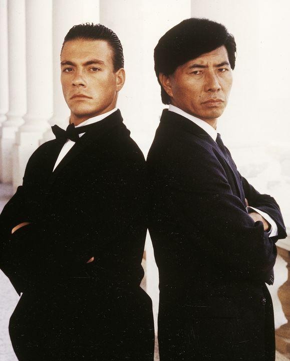 Andrei (Jean-Claude Van Damme, l.); Ken Tani (Sho Kosugi, r.) - Bildquelle: RRS Entertainment