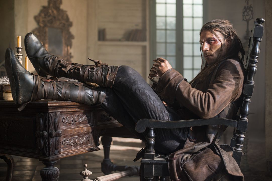 Welche Ziele verfolgt Captain Vane (Zach McGowan)? - Bildquelle: 2013 Starz Entertainment LLC, All rights reserved