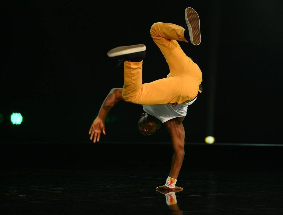 """Stellt sein Können bei """"Got to Dance"""" unter Beweis: Kid Columbia ... - Bildquelle: Willi Weber SAT.1/ProSieben"""