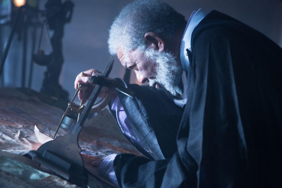 Lehnt sich gegen den Gesandten des Kaisers auf und muss dies bitter bezahlen: der herzensgute und kluge Lord Bartok (Morgan Freeman) ... - Bildquelle: Wild Bunch