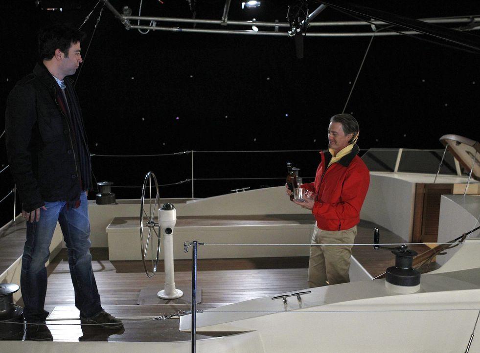 Robin und Marshall verbringen zum ersten Mal einen Abend miteinander. Es stellt sich jedoch schnell heraus, dass sie sich nicht viel zu sagen haben,... - Bildquelle: 20th Century Fox International Television