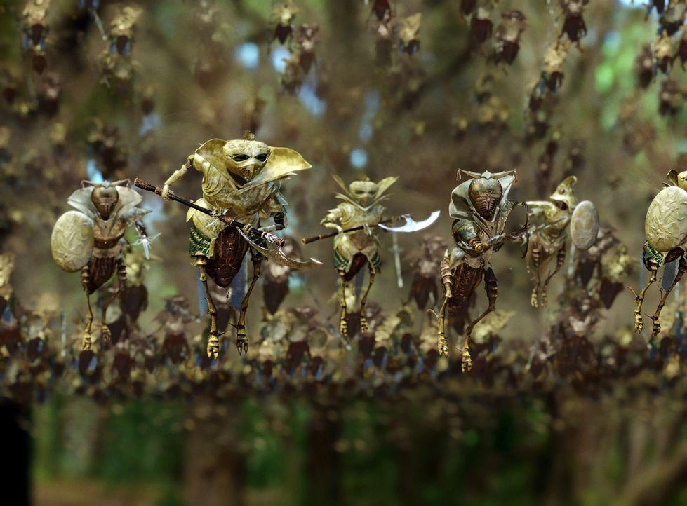 """In einem nahe gelegenen Wald schaffen sich die beiden elfjährigen Freunde Jess und Leslie eine Phantasiewelt, die sie """"Terabithia"""" nennen. Ein magi... - Bildquelle: 2006 Constantin Film, München"""
