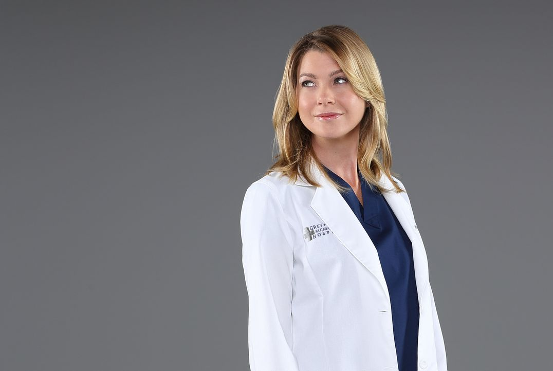 (10. Staffel) - Stets im Einsatz, um Leben zu retten: Meredith (Ellen Pompeo) ... - Bildquelle: Bob D'Amico 2013 American Broadcasting Companies, Inc. All rights reserved.