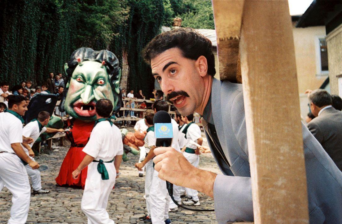 Borat (2006) + Borat Anschluss Moviefilm (2020) - Bildquelle: picture-alliance / Mary Evans Picture Library