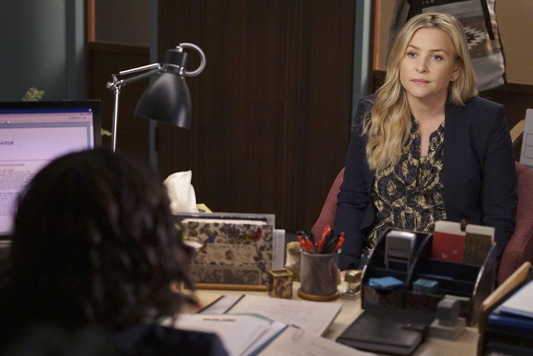 Arizona (Jessica Capshaw) trifft eine Entscheidung, die ihre Beziehung zu Callie für immer verändern könnte ... - Bildquelle: Eric McCandless ABC Studios