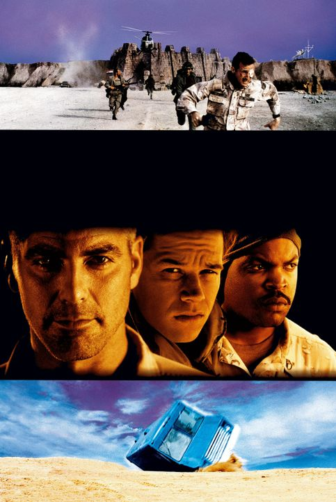 THREE KINGS - Artwork - Bildquelle: Warner Bros. Pictures
