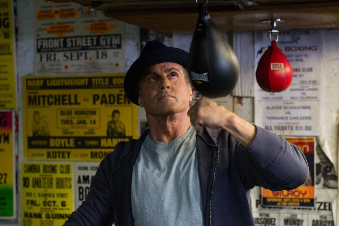 Rocky Balboa (Sylvester Stallone) - Bildquelle: Barry Wetcher 2015 Warner Bros. Entertainment Inc. and Metro-Goldwyn-Mayer Pictures Inc.  All Rights Reserved. / Barry Wetcher